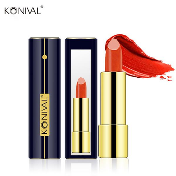 KONIVAL 6 Colors Moisturizing Lasting Lipstick Lip Balm Charming Makeup With Mirror