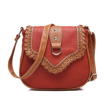 Women Vintage Casual Crossbody Bag Retro Leisure Shoulder Bag