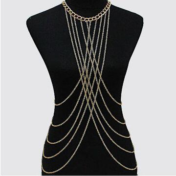 Сексуальное ожерелье из крученого жгута проводов