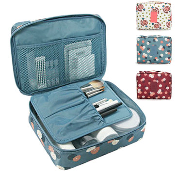 Travel Cosmetic Makeup Case Bag Organizer Storage Toiletry Wash Pouch 3 Colors