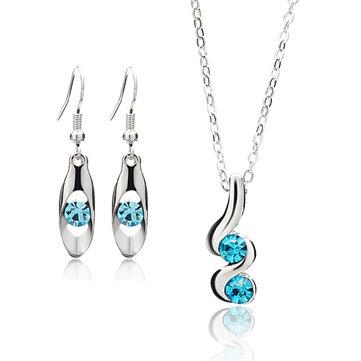 Комплект ювелирных изделий из серебра