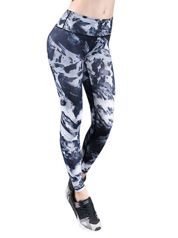 Ink Drawing Painting Breathable Sport Pants