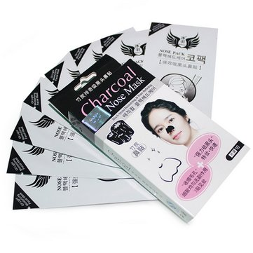 Charcoal Blackhead Remove Removal Nose Mask Strip Sticker Pores Cleaning