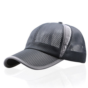 Men Women Summer Breathable Mesh Cap Outdoor Sports Shade Baseball Cap