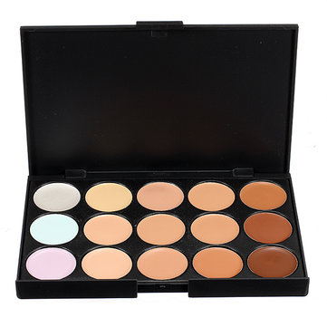 Professional 15 Colors Makeup Facial Concealer Camouflage Palette Cosmetic