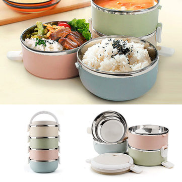 1 2 3 4 layers stainless steel thermal insulated lunch box bento food storage container cheap. Black Bedroom Furniture Sets. Home Design Ideas