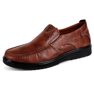 Men Large Size Soft Sole Casual Shoes