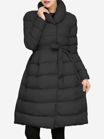 Thicken Cotton Down Women Coats