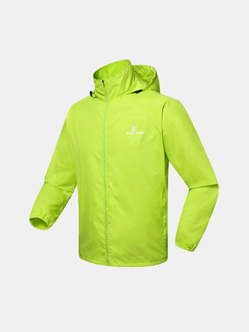 Outdoor Sport Lightweight Convenient Waterproof Wind-Resistant Riding Jacket For Men