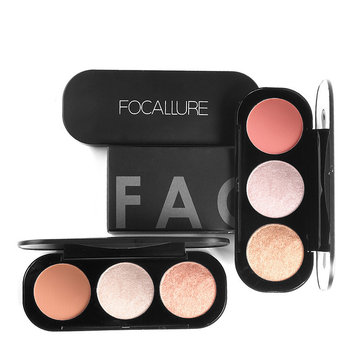 FOCALLURE 3 Colors Highlighters