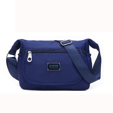 Women Shoulder Bag Nylon Waterproof Leisure Crossbody Bag