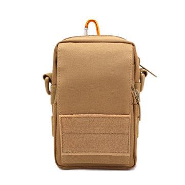 Мужская Тактическая Водонепроницаемая нейлоновая сумка Crossbody Многофункциональный Открытый Камуфляж сотовый телефон Pocket