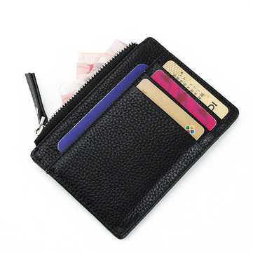 Vintage PU Leather Multifunctional Card Holders Coins Bags