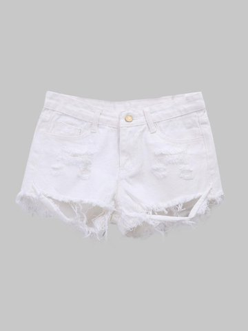 white girl shorts shorts - Fashion online sale at NewChic