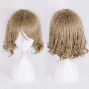 Короткие вьющиеся парик Cosplay