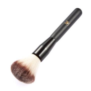 Strumenti cosmetici di trucco dello spazzolino della spazzola della polvere nera