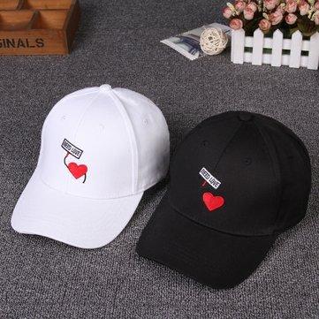 Men Women Letters Baseball Cap Visor Peaked Cap Hip Hop Casual Adjustable Snapback Hat