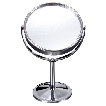 Magnifying Rotatable Double-Sided Desktop Cosmetic Mirror