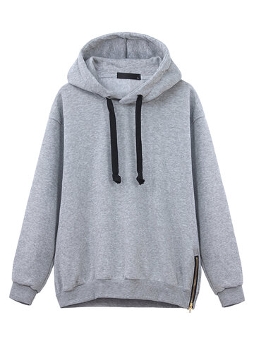 Langes Hülsen-beiläufiges Hoodies-Sweatshirt