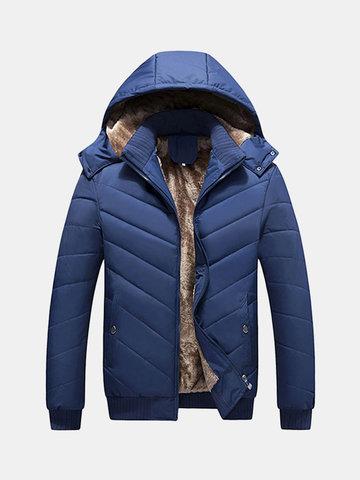 Куртка с капюшоном для мужчин с капюшоном