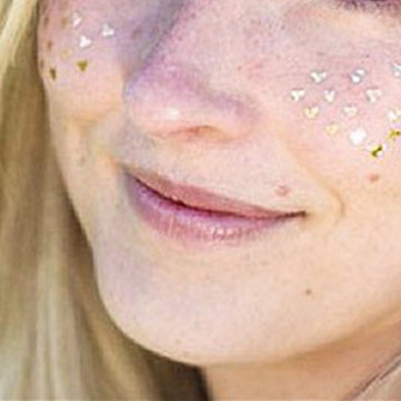 Waterproof Gilding Bronzing Face Freckle Tattoos