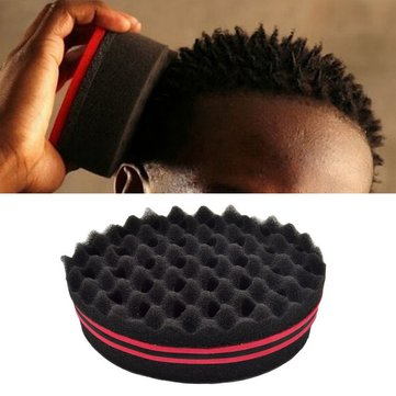 Magic Twisted Hair Curl Brush Sponge Coil Wave for Natural Hair