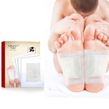 10 Pieces Detox Foot Patch Chinese Medicine Improve Sleep Beauty Health Relaxation