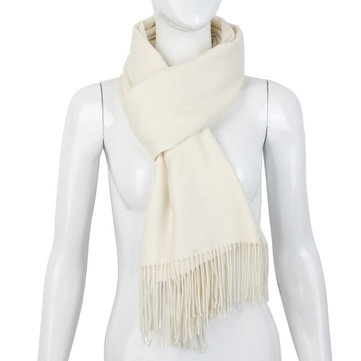 New Style Women Autumn Winter Scarf Cashmere Wool Thick Long Fringed Shawl