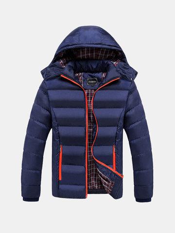 Плюс Размер с капюшоном Мягкие куртки