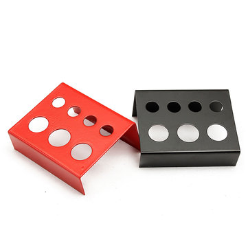 1Pcs 7 Holes Tattoo Ink Cup Holder Stainless Steel Pigment Stand Supply