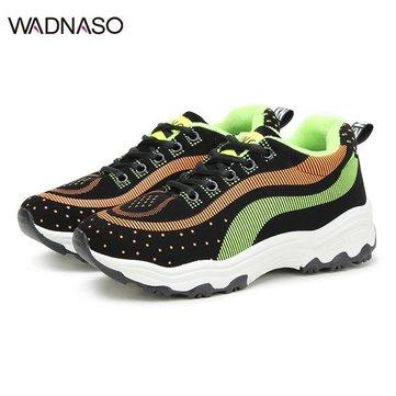 Спортивная обувь WADNASO Color Matching Lace Up