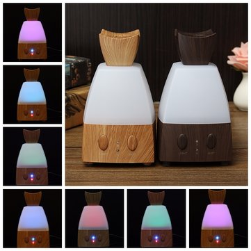 100-240V LED Air Humidifier Purifier Ultrasonic Aromatherapy Essential Oil Diffuser