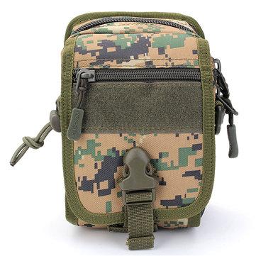 Мужская нейлоновая тактическая небольшая сумка из кросс-кошелька