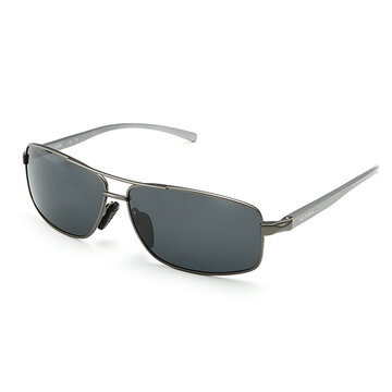 Men Aluminum Magnesium Frame Sunglasses Outdoor Polarized Sports Driving Eyewear