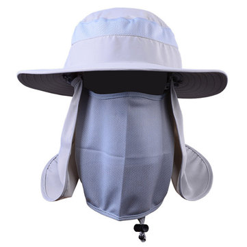 0f7d187b Buy Men Women Outdoor Quick-drying Breathable Sun Hats Face Neck Cover UV  Protection Bucket Cap at Newchic - Chinese Goods Catalog - ChinaPrices.net