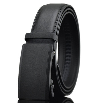 Mens Business Second Layer Of Leather Belt