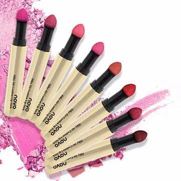 NOVO Bite Lips Lipstick Maquillage Sexy Silky Air Cushion Lip Gloss Long Durable Imperméable Cosmétiques