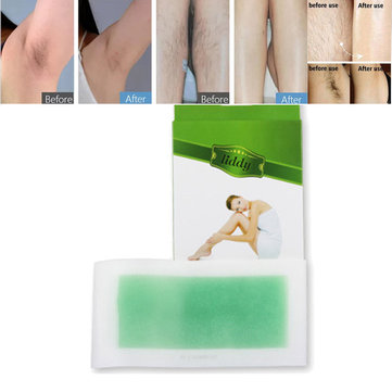Disposable Hair Removal Depilatory Wax Paper Double-side Epilator Strips