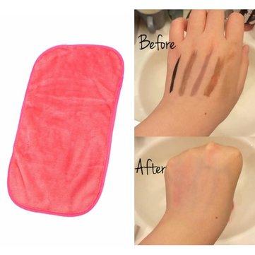 Мягкий микрофибра для снятия макияжа с полотенцем