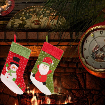 Christmas Decoration Socks Snowman Christmas Gifts For Christmas Tree