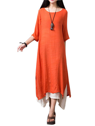 Gracila Layered Split Women Dresses
