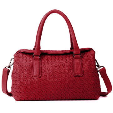 Women Elegant Casual Boston Handbags Ladies Leisure Crossbody Bags