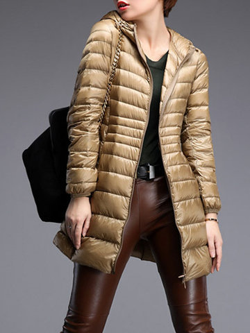 Casual Portable Women Light Down Jackets