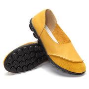 Grand Match De Couleur Taille Modèle Confortable Ballet Doux Casual Chaussures Plates Fq8sg75c